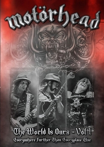 Motörhead - The Wörld Is Ours - Vol 1 (Everywhere Further Than Everyplace Else) - Poster / Capa / Cartaz - Oficial 1