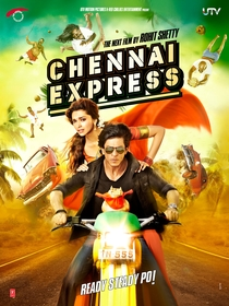 Chennai Express - Poster / Capa / Cartaz - Oficial 1