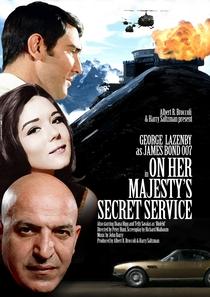 007 - A Serviço Secreto de Sua Majestade - Poster / Capa / Cartaz - Oficial 4