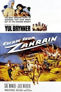 Os Fugitivos de Zahrain - Poster / Capa / Cartaz - Oficial 3