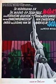 A Perseguição e o Assassinato de Jen-Paul Marat Desempenhados Pelos Loucos do Asilo de Charenton Sob a Direção do Marquês de Sade - Poster / Capa / Cartaz - Oficial 2