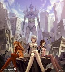 Evangelion: 3.33 You can (Not) Redo - Poster / Capa / Cartaz - Oficial 2