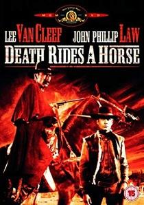 A Morte Anda a Cavalo - Poster / Capa / Cartaz - Oficial 4