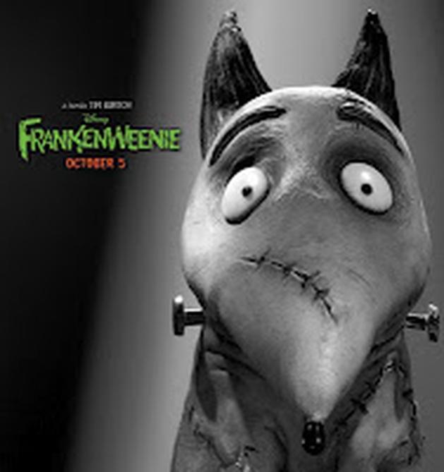 Divulgado mais um pôster do filme 'Frankenweenie'