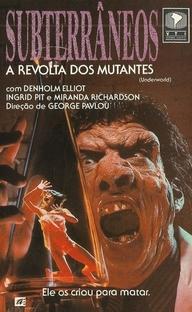 Subterrâneos A Revolta Dos Mutantes - Poster / Capa / Cartaz - Oficial 3