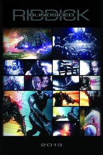 Riddick: Blindsided - Poster / Capa / Cartaz - Oficial 1
