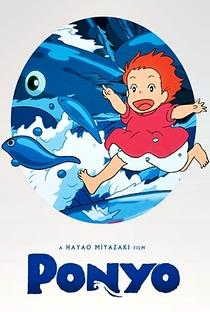 Ponyo: Uma Amizade que Veio do Mar - Poster / Capa / Cartaz - Oficial 14