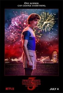 Stranger Things (3ª Temporada) - Poster / Capa / Cartaz - Oficial 7