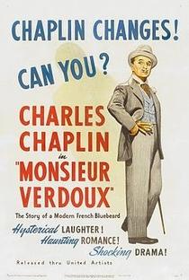 Monsieur Verdoux - Poster / Capa / Cartaz - Oficial 5