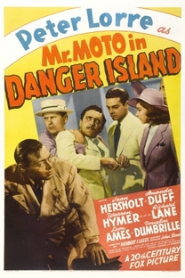 Mr. Moto na Ilha do Terror - Poster / Capa / Cartaz - Oficial 1