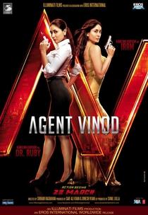 Agent Vinod - Poster / Capa / Cartaz - Oficial 7