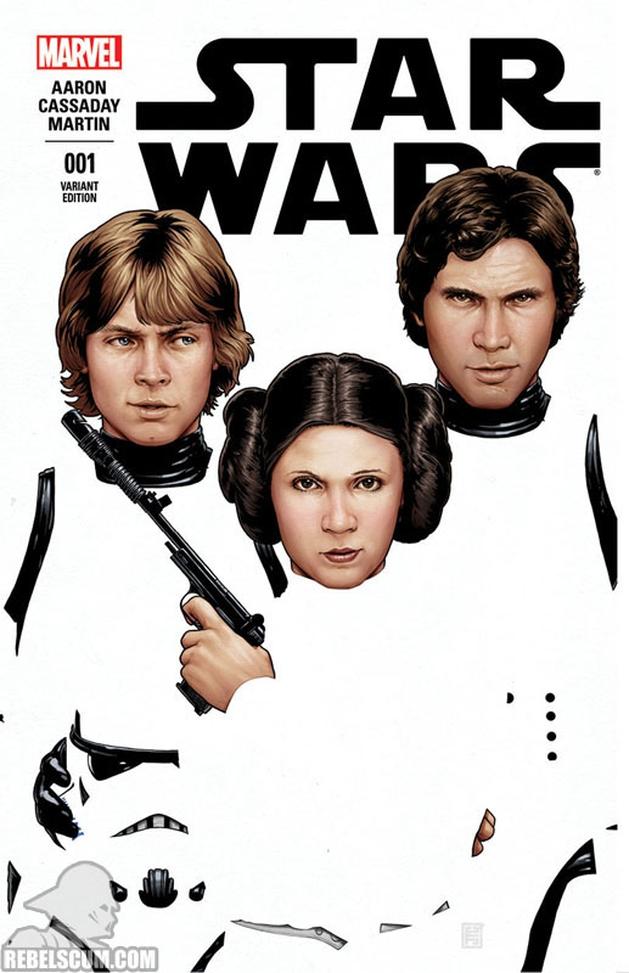 Star Wars: reveladas mais capas variantes da HQ