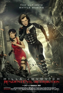 Resident Evil 5: Retribuição - Poster / Capa / Cartaz - Oficial 12
