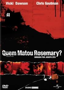 Quem Matou Rosemary? - Poster / Capa / Cartaz - Oficial 12