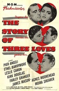 A História de Três Amores - Poster / Capa / Cartaz - Oficial 1
