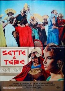 Os Sete de Tebas - Poster / Capa / Cartaz - Oficial 1