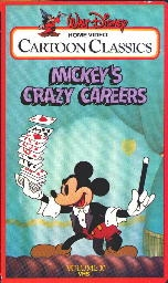 Mickey's Crazy Careers - Poster / Capa / Cartaz - Oficial 1