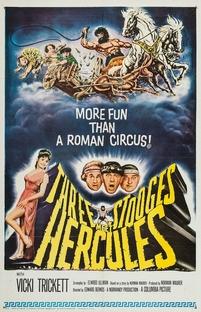 Os Três Patetas com Hércules no Olimpo - Poster / Capa / Cartaz - Oficial 1