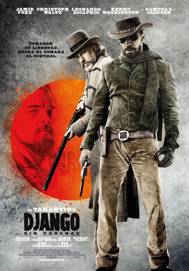 Sai o novo pôster de Django Livre