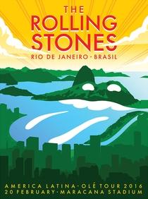 Rolling Stones - Rio de Janeiro 2016 - Poster / Capa / Cartaz - Oficial 1