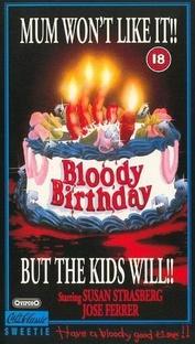 Aniversário Sangrento - Poster / Capa / Cartaz - Oficial 2