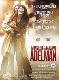 Monsieur e Madame Adelman - Poster / Capa / Cartaz - Oficial 2