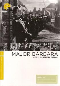 Major Barbara - Poster / Capa / Cartaz - Oficial 1
