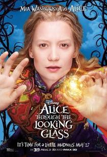 Alice Através do Espelho - Poster / Capa / Cartaz - Oficial 3