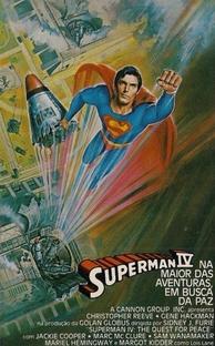 Superman IV - Em Busca da Paz - Poster / Capa / Cartaz - Oficial 3
