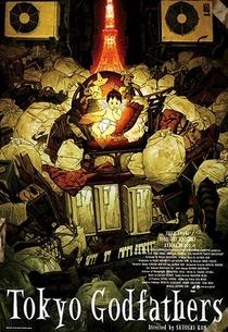 Tokyo Godfathers - Poster / Capa / Cartaz - Oficial 2