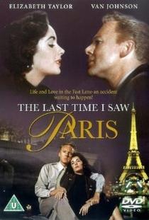 A Última Vez Que Vi Paris - Poster / Capa / Cartaz - Oficial 2