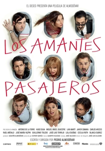 Os Amantes Passageiros - Poster / Capa / Cartaz - Oficial 3