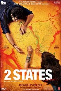 2 States - Poster / Capa / Cartaz - Oficial 1