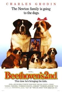 Beethoven 2 - Poster / Capa / Cartaz - Oficial 1