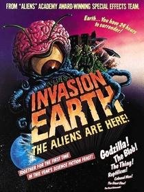 Invasão da Terra - Os Alienígenas Estão Aqui - Poster / Capa / Cartaz - Oficial 2