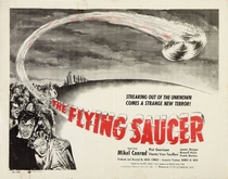 The flying saucer - Poster / Capa / Cartaz - Oficial 1