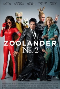 Zoolander 2 - Poster / Capa / Cartaz - Oficial 1