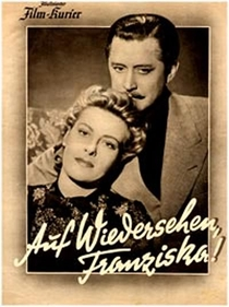 Auf Wiedersehn, Franziska! - Poster / Capa / Cartaz - Oficial 1