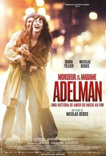 Monsieur e Madame Adelman - Poster / Capa / Cartaz - Oficial 1