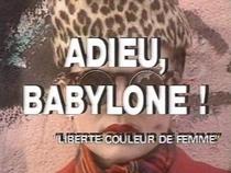Adieu, Babylone! - Poster / Capa / Cartaz - Oficial 1