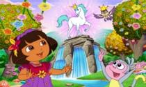 As Aventuras de Dora na Floresta Encantada - Poster / Capa / Cartaz - Oficial 1