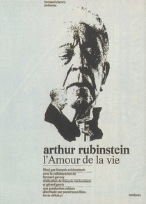 Arthur Rubinstein – The Love of Life - Poster / Capa / Cartaz - Oficial 1