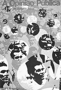 A Opinião Pública - Poster / Capa / Cartaz - Oficial 1
