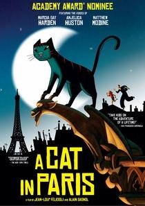 Um Gato em Paris - Poster / Capa / Cartaz - Oficial 5