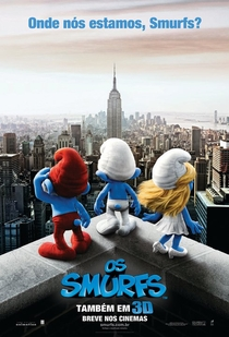 Os Smurfs - Poster / Capa / Cartaz - Oficial 3