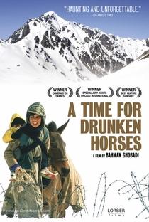 Tempo de Cavalos Bêbados - Poster / Capa / Cartaz - Oficial 4