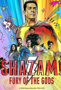 Shazam! - Fúria dos Deuses - Poster / Capa / Cartaz - Oficial 2