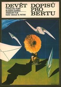 Nueve Cartas a Berta - Poster / Capa / Cartaz - Oficial 3