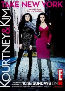 Kourtney & Kim Take New York (1ª Temporada) - Poster / Capa / Cartaz - Oficial 1