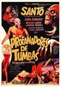 Santo Contra los Profanadores de Tumbas - Poster / Capa / Cartaz - Oficial 1